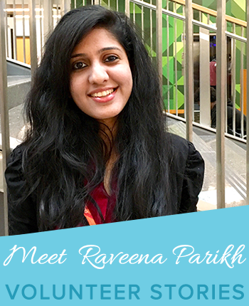 volunteer raveena