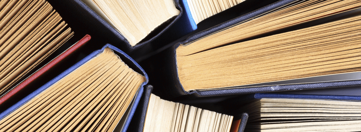 BOOKS & AUTHORS – A GREAT COMBINATION