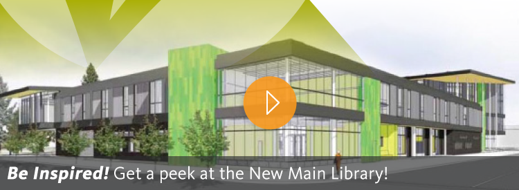 Be Inspired! Get a peek at the New Main Library!